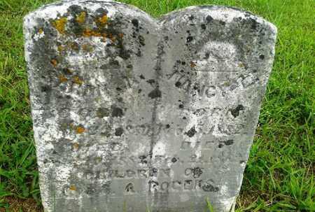 ROGERS, SARAH M - Fleming County, Kentucky   SARAH M ROGERS - Kentucky Gravestone Photos