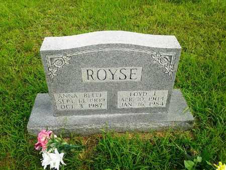 ROYSE, ANNA BELLE - Fleming County, Kentucky | ANNA BELLE ROYSE - Kentucky Gravestone Photos