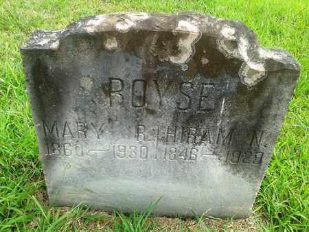 ROYSE, HIRAM N - Fleming County, Kentucky   HIRAM N ROYSE - Kentucky Gravestone Photos