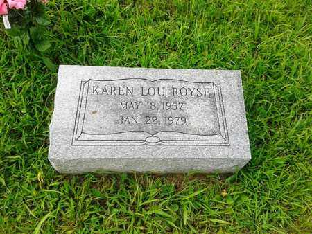 ROYSE, KAREN LOU - Fleming County, Kentucky | KAREN LOU ROYSE - Kentucky Gravestone Photos