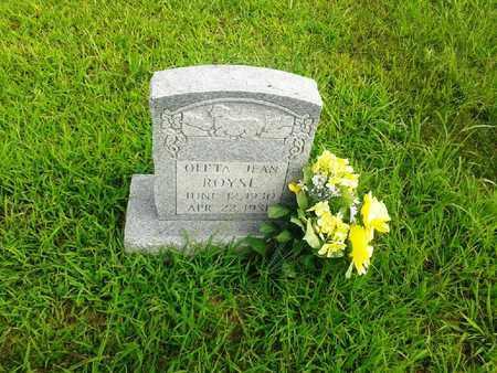 ROYSE, OLETA JEAN - Fleming County, Kentucky | OLETA JEAN ROYSE - Kentucky Gravestone Photos