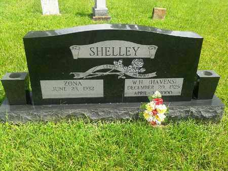 SHELLEY, W H (HAVENS) - Fleming County, Kentucky | W H (HAVENS) SHELLEY - Kentucky Gravestone Photos