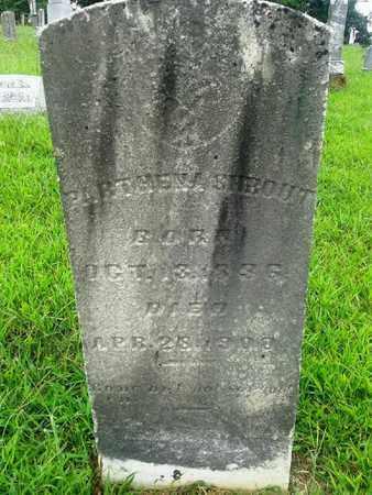 SHROUT, PARTHENA - Fleming County, Kentucky   PARTHENA SHROUT - Kentucky Gravestone Photos