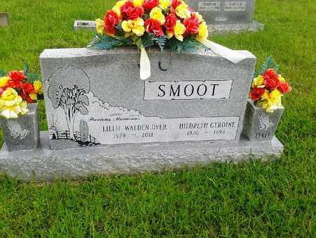 SMOOT, LILLIE WALDEN - Fleming County, Kentucky | LILLIE WALDEN SMOOT - Kentucky Gravestone Photos