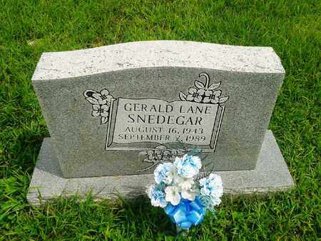 SNDEGAR, GERALD LANE - Fleming County, Kentucky | GERALD LANE SNDEGAR - Kentucky Gravestone Photos