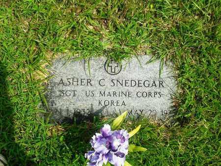 SNDEGAR (VETERAN KOR), ASHER C - Fleming County, Kentucky | ASHER C SNDEGAR (VETERAN KOR) - Kentucky Gravestone Photos