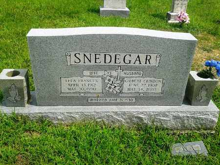 SNEDEGAR, GILBERT CLINTON - Fleming County, Kentucky | GILBERT CLINTON SNEDEGAR - Kentucky Gravestone Photos
