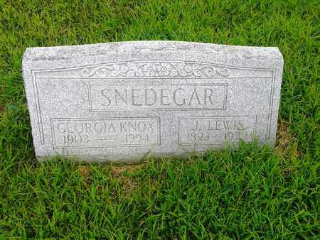 SNEDEGAR, GEORGIA - Fleming County, Kentucky   GEORGIA SNEDEGAR - Kentucky Gravestone Photos