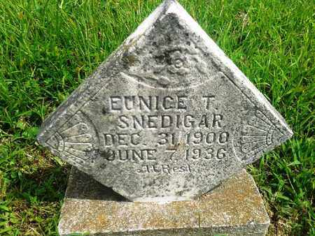 SNEDIGAR, EUNICE T - Fleming County, Kentucky | EUNICE T SNEDIGAR - Kentucky Gravestone Photos