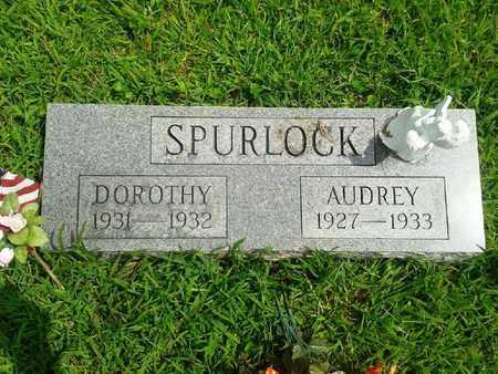 SPURLOCK, AUDREY - Fleming County, Kentucky   AUDREY SPURLOCK - Kentucky Gravestone Photos