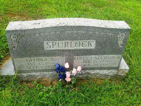 SPURLOCK, LULEY A - Fleming County, Kentucky | LULEY A SPURLOCK - Kentucky Gravestone Photos