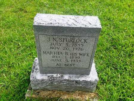 SPURLOCK, J N - Fleming County, Kentucky | J N SPURLOCK - Kentucky Gravestone Photos