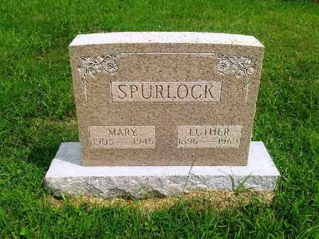 SPURLOCK, LUTHER - Fleming County, Kentucky | LUTHER SPURLOCK - Kentucky Gravestone Photos