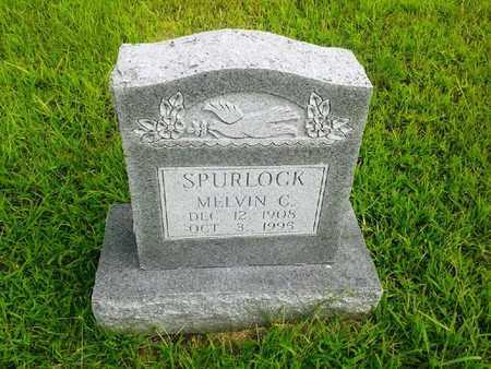 SPURLOCK, MELVIN C - Fleming County, Kentucky | MELVIN C SPURLOCK - Kentucky Gravestone Photos