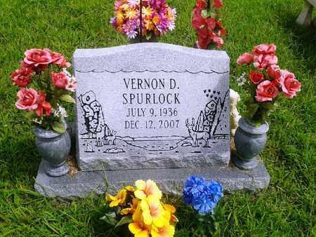 SPURLOCK, VERNON D - Fleming County, Kentucky | VERNON D SPURLOCK - Kentucky Gravestone Photos