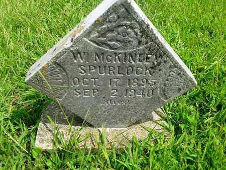 SPURLOCK, W MCKINLEY - Fleming County, Kentucky | W MCKINLEY SPURLOCK - Kentucky Gravestone Photos