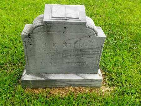 STORY, AMANDA E - Fleming County, Kentucky   AMANDA E STORY - Kentucky Gravestone Photos