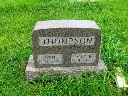 THOMPSON, ALFRED - Fleming County, Kentucky | ALFRED THOMPSON - Kentucky Gravestone Photos
