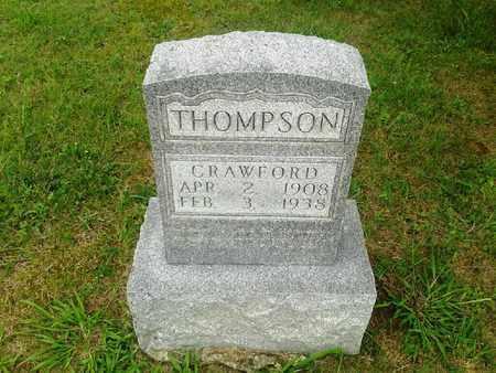 THOMPSON, CRAWFORD - Fleming County, Kentucky   CRAWFORD THOMPSON - Kentucky Gravestone Photos