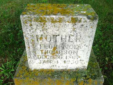 THOMPSON, FLORENCE - Fleming County, Kentucky | FLORENCE THOMPSON - Kentucky Gravestone Photos