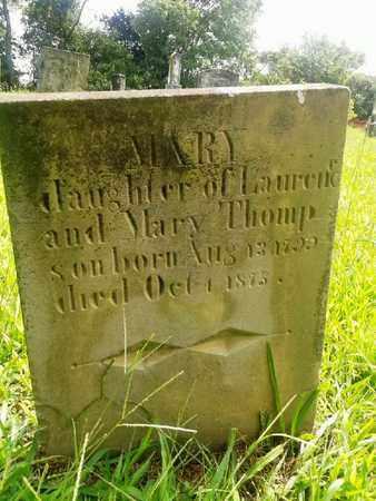 THOMPSON, MARY - Fleming County, Kentucky | MARY THOMPSON - Kentucky Gravestone Photos