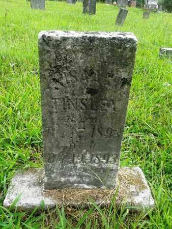 TINSLEY, ISAAC - Fleming County, Kentucky   ISAAC TINSLEY - Kentucky Gravestone Photos