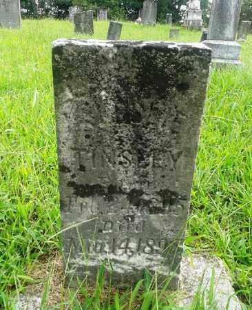 TINSLEY, LESLIE - Fleming County, Kentucky   LESLIE TINSLEY - Kentucky Gravestone Photos