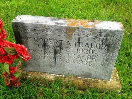 TRALOR, MRS ROBERT A - Fleming County, Kentucky | MRS ROBERT A TRALOR - Kentucky Gravestone Photos