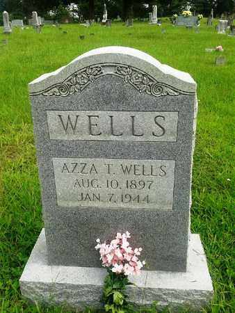 WELLS, AZZA T - Fleming County, Kentucky | AZZA T WELLS - Kentucky Gravestone Photos