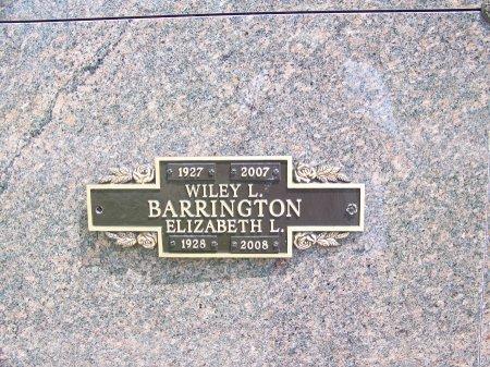 BARRINGTON, ELIZABETH L. - Graves County, Kentucky | ELIZABETH L. BARRINGTON - Kentucky Gravestone Photos
