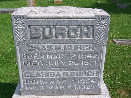 BURCH, CHARLES M. - Graves County, Kentucky | CHARLES M. BURCH - Kentucky Gravestone Photos