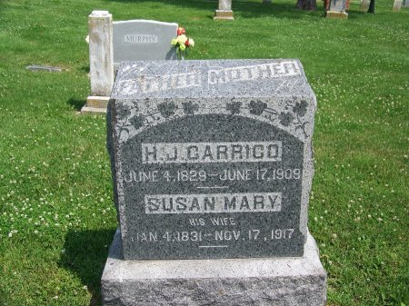 CARRICO, SUSAN NARY - Graves County, Kentucky | SUSAN NARY CARRICO - Kentucky Gravestone Photos