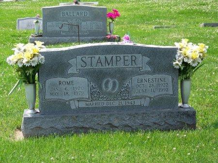 STAMPER, ERNESTINE - Graves County, Kentucky   ERNESTINE STAMPER - Kentucky Gravestone Photos