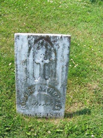 THOMAS, ROBERT A. - Graves County, Kentucky   ROBERT A. THOMAS - Kentucky Gravestone Photos