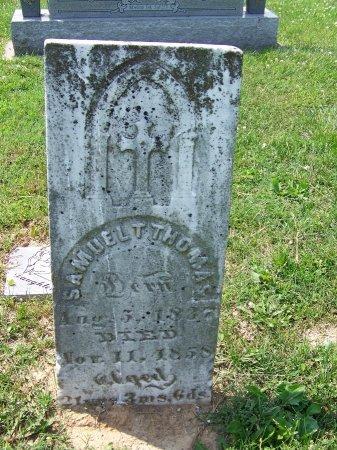 THOMAS, SAMUEL T. - Graves County, Kentucky   SAMUEL T. THOMAS - Kentucky Gravestone Photos
