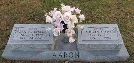 AARON, BEN FRANKLIN - Green County, Kentucky   BEN FRANKLIN AARON - Kentucky Gravestone Photos