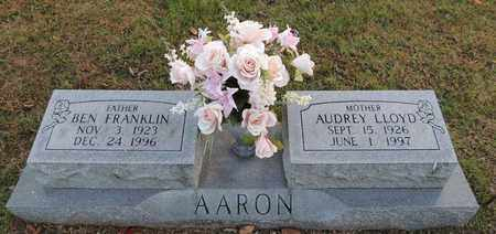 LLOYD AARON, AUDREY - Green County, Kentucky | AUDREY LLOYD AARON - Kentucky Gravestone Photos