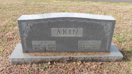 "AKIN, ALVIN NORMAN ""A. N."" - Green County, Kentucky | ALVIN NORMAN ""A. N."" AKIN - Kentucky Gravestone Photos"