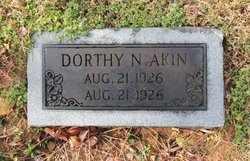 AKIN, DORTHY N - Green County, Kentucky | DORTHY N AKIN - Kentucky Gravestone Photos