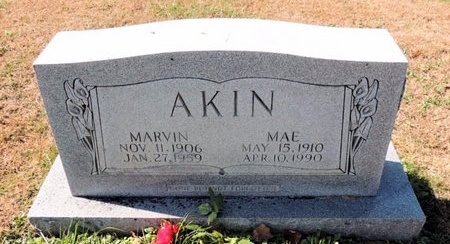 AKIN, MAE - Green County, Kentucky | MAE AKIN - Kentucky Gravestone Photos