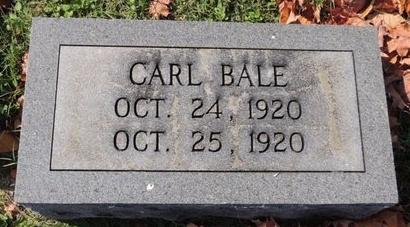 BALE, CARL - Green County, Kentucky | CARL BALE - Kentucky Gravestone Photos