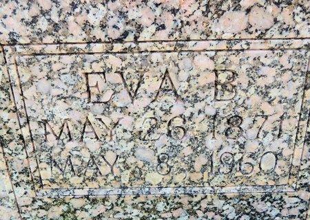 VANCE BALE, EVA B (CLOSE UP) - Green County, Kentucky | EVA B (CLOSE UP) VANCE BALE - Kentucky Gravestone Photos
