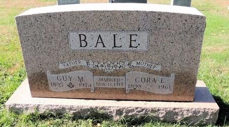 BALE, CORA E - Green County, Kentucky | CORA E BALE - Kentucky Gravestone Photos