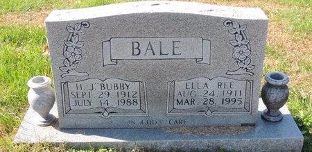 BALE, H J - Green County, Kentucky   H J BALE - Kentucky Gravestone Photos