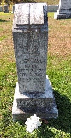 BALE, KATE FLORENCE - Green County, Kentucky   KATE FLORENCE BALE - Kentucky Gravestone Photos