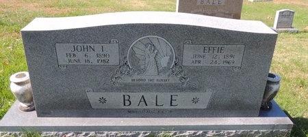 WHITLOW BALE, MATTIE EFFIE - Green County, Kentucky | MATTIE EFFIE WHITLOW BALE - Kentucky Gravestone Photos