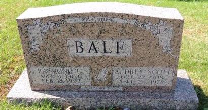 BALE, AUDREY - Green County, Kentucky | AUDREY BALE - Kentucky Gravestone Photos