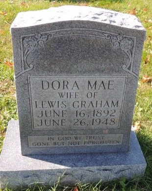 GRAHAM, DORA MAE - Green County, Kentucky | DORA MAE GRAHAM - Kentucky Gravestone Photos
