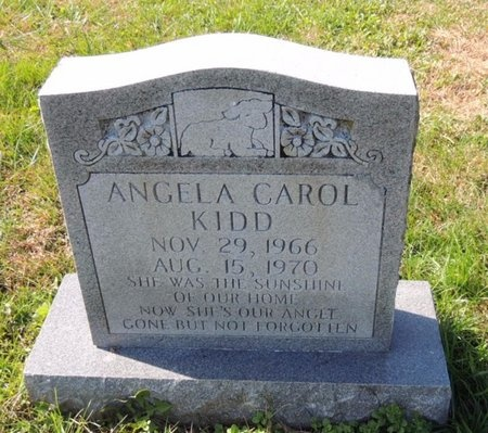 KIDD, ANGELA CAROL - Green County, Kentucky | ANGELA CAROL KIDD - Kentucky Gravestone Photos