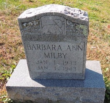 MILBY, BARBARA ANN - Green County, Kentucky | BARBARA ANN MILBY - Kentucky Gravestone Photos